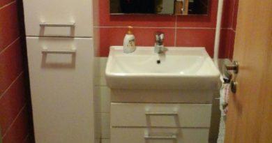 Dokončená rekonstrukce koupelny
