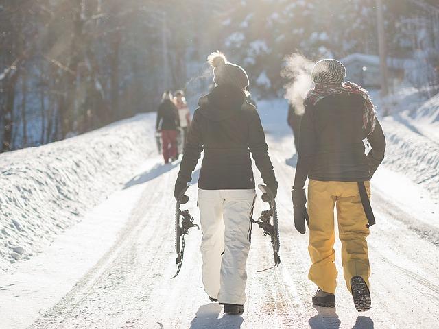 V zimě je potřeba vybrat správné oblečení